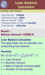 Loan Balance Calculator screenshot 3/3