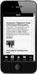 Running Guide screenshot 2/4