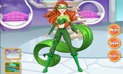 DC Super Hero Girls Poison Ivy Dress Up screenshot 1/3