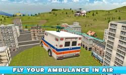 Flying Ambulance Simulator 3D screenshot 1/4
