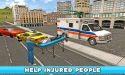 Flying Ambulance Simulator 3D screenshot 2/4