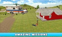 Flying Ambulance Simulator 3D screenshot 3/4