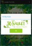 Jungle For Kids screenshot 1/4