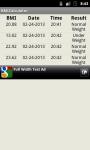 BMI Calculator Tracker screenshot 1/3