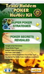 Texas Holdem Poker Hustler Kit free screenshot 1/3