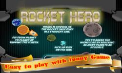 Rocket Hero - Space Ship Spin to Explore Planets screenshot 3/6