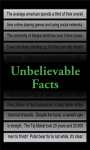 Unbelievable Facts 240x320 Touch screenshot 1/1