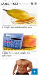 Weight loss Guide and beauty tips screenshot 1/3