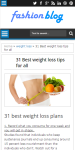 Weight loss Guide and beauty tips screenshot 2/3