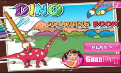 Dino coloring book screenshot 2/3