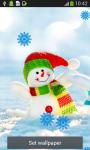 Snowman Live Wallpapers screenshot 5/6