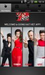 Giong Hat Viet The Voice Viet Nam screenshot 1/3
