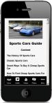 Cheap Sports Cars screenshot 4/4