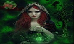 Witch Beauty Live Wallpaper screenshot 2/3