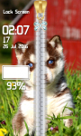 Husky Zipper Lock Screen screenshot 5/6