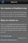 HealthyLiving screenshot 2/3