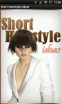 Short Hairstyles Ideas screenshot 1/6