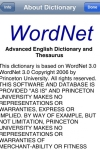 Advanced English Dictionary and Thesaurus - Mobile Systems screenshot 1/1