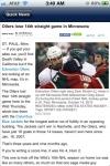 Edmonton Hockey News and Rumors screenshot 1/1