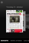 Politiken eAvisen screenshot 1/1