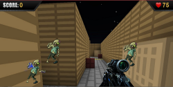Zombie Survival Game screenshot 1/2