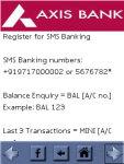 Bank SMS Banking screenshot 4/6