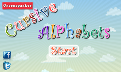 Cursive Alphabets screenshot 1/6