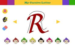 Cursive Alphabets screenshot 3/6
