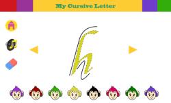 Cursive Alphabets screenshot 5/6