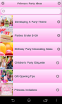 Princess Party Ideas screenshot 6/6