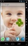 Sweet Baby Smile Live Wallpaper screenshot 1/2