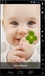 Sweet Baby Smile Live Wallpaper screenshot 2/2