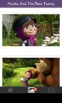 Funny wallpaper Masha and the bear screenshot 4/6