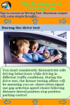 Tips to success in Driving Test screenshot 3/3