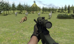 Extreme wild lion hunting 3D screenshot 2/5