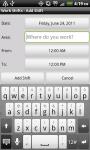 Work Shifts Free screenshot 2/6