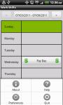 Work Shifts Free screenshot 4/6