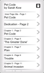 Youth Adult EBook - Pet Code screenshot 3/4