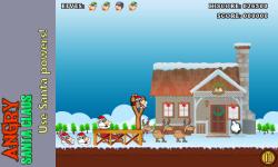 Angry Santa Claus screenshot 2/3