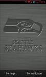 Seattle Seahawks NFL Live Wallpaper screenshot 1/3