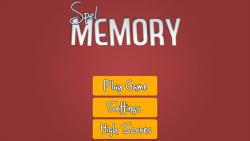 Spel Memory screenshot 1/2