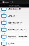 Vietnam Tv Live screenshot 2/5