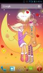 Romantic Couple in Cartoon Live Wallpaper Best screenshot 3/4