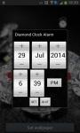 Diamond Alarm clock and Flashlight screenshot 1/4