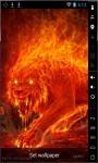 Monster Of Fire Live Wallpaper screenshot 1/2