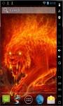 Monster Of Fire Live Wallpaper screenshot 2/2