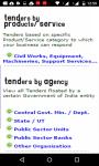 Tenders India screenshot 1/3