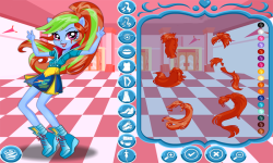Rainbow Dash School Spirit Style screenshot 1/4
