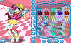 Rainbow Dash School Spirit Style screenshot 4/4