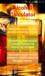 Alcohol_Calc screenshot 1/4